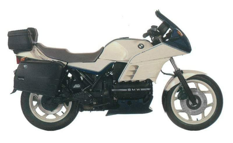 BMW K100 RS 16V and SE model technical specifications